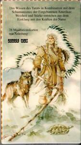 Indianer-Tarot-rar-selten-Sammler-NEU-Karten-u-Anleitung-Lo-Scarabeo-Koenigsfurt