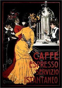 Caffe Espresso 1900 - Italy, Italian vintage old repro coffee ...