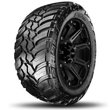 4-NEW37x13.50R22LT AMP Mud Terrain Attack MT 123Q E/10 Ply BSW Tires