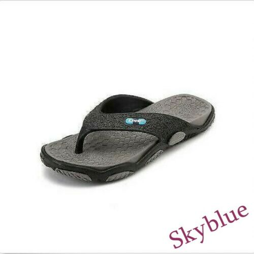 Summer Mens Shoes Beach Shoes Wedge Clip Toe Sandals Thongs Sport Shower size