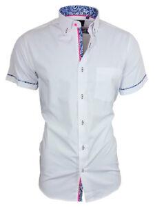 Binder-de-Luxe-Herren-Hemd-Shirt-Brusttasche-Kurzarm-82902-weiss
