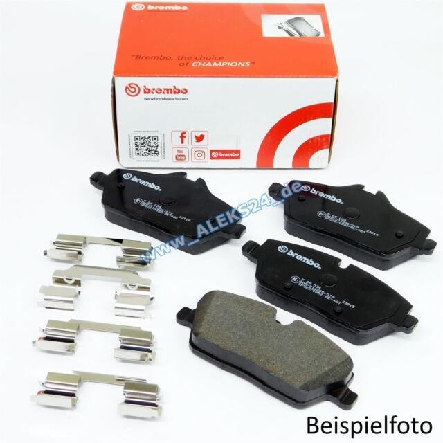 Set of 4 Brembo P61063 Front Disc Brake Pad