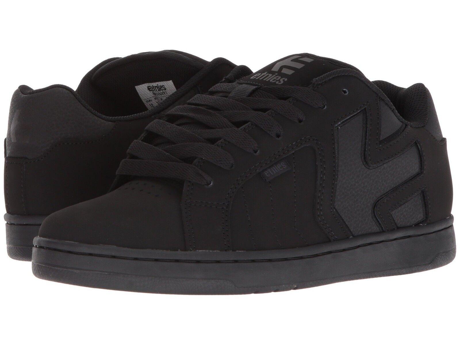 Schuhe Herren ETNIES FADER 2 SKATEBOARDING Schuhe  NIB BLACK BLACK BLACK 5bd94e