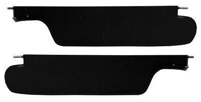 Skylark Black Sun Visors Cutlass 1978-1988 GM G Body Malibu El Camino PAIR