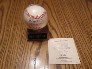 9287c0ffa0 NEW Ken Griffey Jr. Sr. Dual Signed Autographed Baseball Mariners w ...
