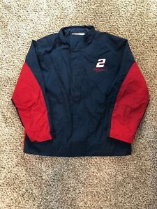 Chase-Authentics-Rusty-Wallace-Miller-Lite-NASCAR-Jacket-Coat-Size-L