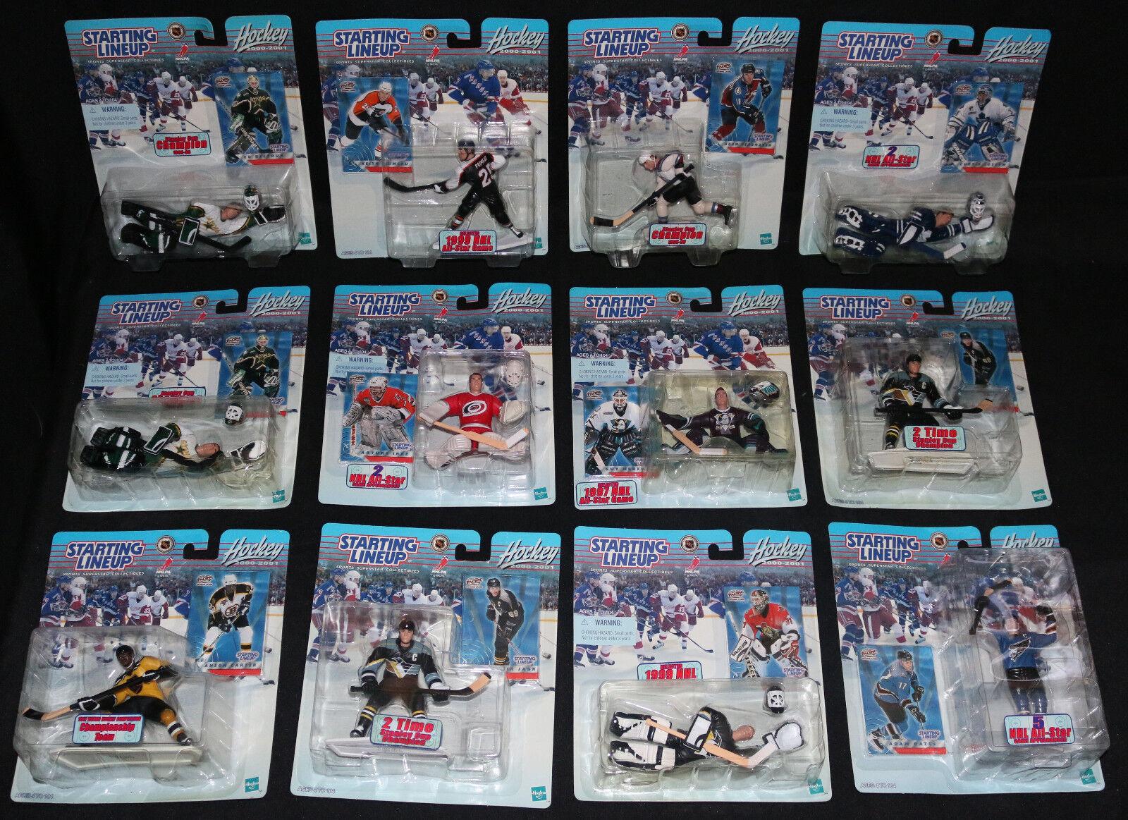 NHL Starting Lineup 12 figure litige ouvert avec Mailer - 2000