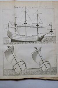 Marine-De-La-Mature-Des-Vaisseaux-1727-1728