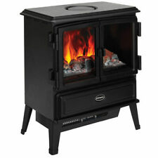 Dimplex Oakhurst 2kW Electric Portable Stove Heater Fireplace Fire/Smoke Effect