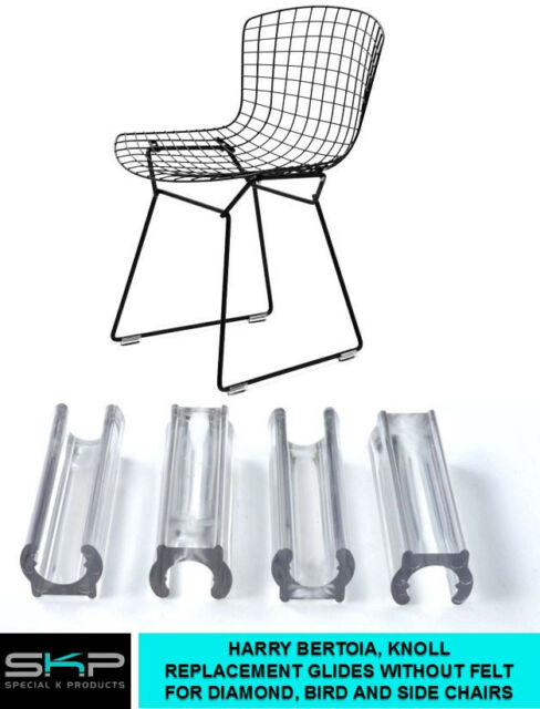 glides for harry bertoia chair diamond bird side chairs knoll no