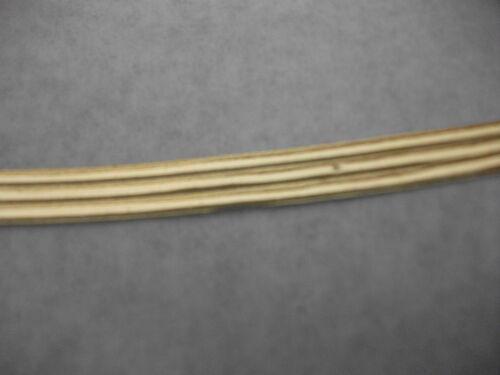 despierta arte Wachsornament incluso vela diseñar plana rayas 2 mm oro