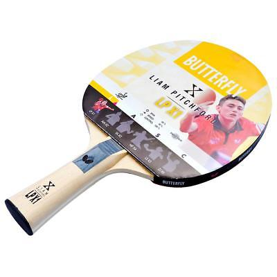 1.5 mm Butterfly Liam Pitchford 1500 Table Tennis Bat Addoy Rubber ITTF Approved