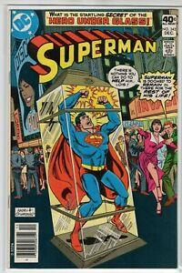 Superman-Issue-342-DC-Comics-Dec-1979-VF