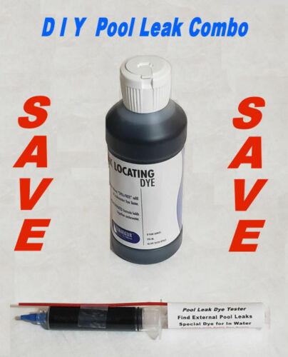 Pool Leak Dye Find Tester Refill Bottle Look repair detect fix check anderson Pr