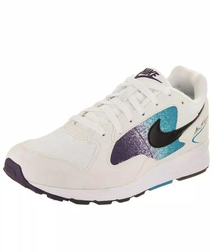 Nike Mens Air Skylon II White Black-bluee Lagoon Men's Size 10
