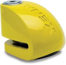 Xena XX-10 Motorcycle Disc Lock with Alarm - Yellow XX10
