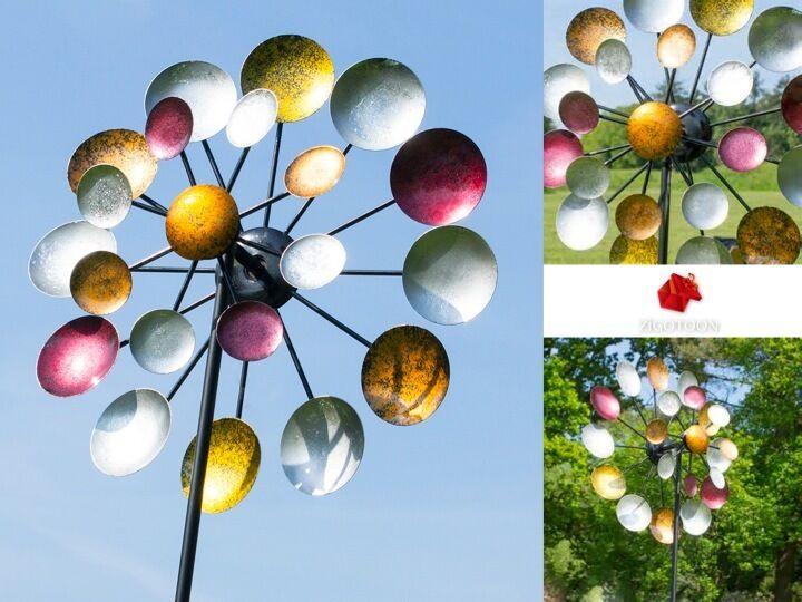 Eames typ Wind spinner Vintage design garden Outdoor decoration