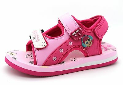 Summer New Sandals Beppi Infant Girls UK 4.5 to 8.5 Pink Rubber Clog Outdoor