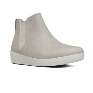 f876d895e3f Image is loading FitFlop-SUPERCHELSEA-Ladies-Womens-Canvas -Summer-Chelsea-Boots-