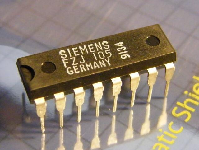 LSL-series Siemens FZJ105 JK-master-slave-flip-flop with two J and K-inputs