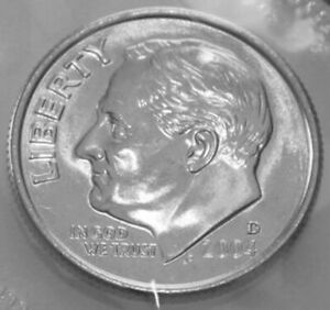 1992 P+D UNCIRCULATED ROOSEVELT DIMES NICE COIN STILL IN MINT CELLO L@@K