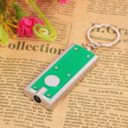 1//2//5//10STK Schlüsselanhänger Mini LED Taschenlampe Schlüsselleuchte Geschenk
