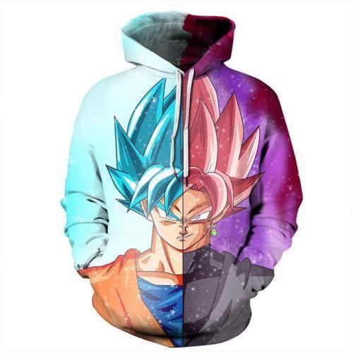 New Men Tokyo Ghoul Japan Anime 3D Print Casual Hoodie Jumper Sweatshirt Sweater