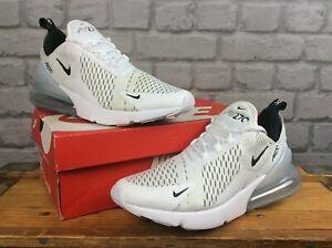 Nike-Para-Hombre-Air-Max-270-Negro-Y-Blanco-Zapatillas-Varias-Tallas-RRP-120