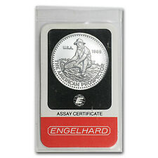 1 oz Engelhard Prospector Platinum Round - In Assay - SKU #25473