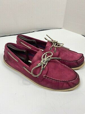 Sperry Authentic Original Pink Boat