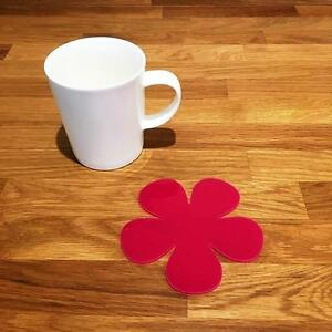 DAISY en forme de rose vernis acrylique Coasters- ensembles de 4- 6 ou 8- 11 cm-afficher le titre d`origine KilaXv32-07221204-779933012