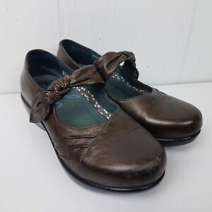 33da431e0028 Dansko Ainsley Clog US 6.5 - 7 EU 37 Bronze Metallic Leather Mary ...