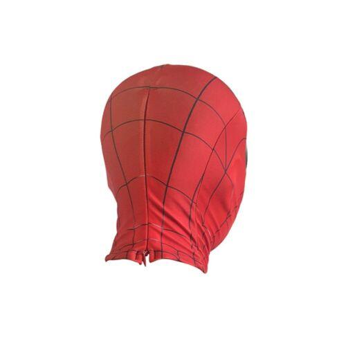 Priority mail Premium Spiderman Spider Man Miles Morales Elastic Mask Costume