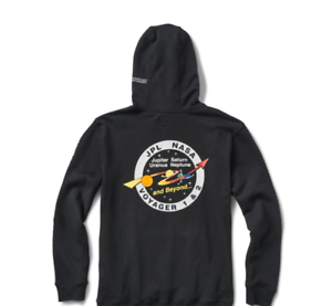 Details about Rare! Vans x NASA Hoodie Black Space Voyager Pullover UNISEX  (Size Small)
