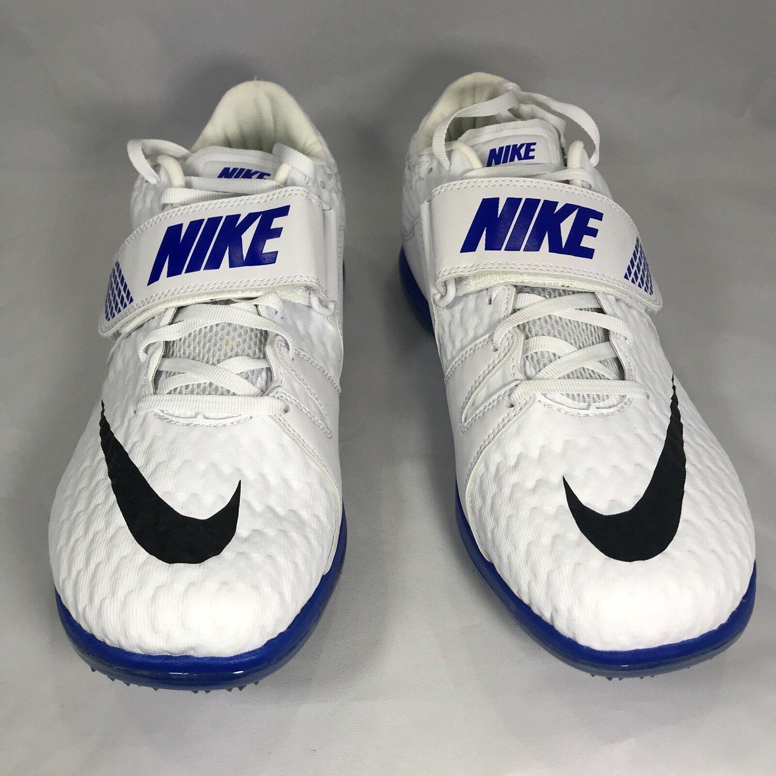 23 New Nike Mens HJ High Jump Elite White Track Spikes 806561-100