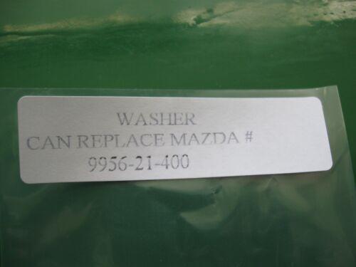 MAZDA PRESSURE HOSE GASKET 2PC P//N 9956-21-400