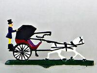 German Wilhelm Schweizer Pewter - Horse Drawn Carriage - Miniatures - Bavarian