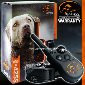Stubborn FieldTrainer Remote Dog Training System SportDOG SD-425S Collar