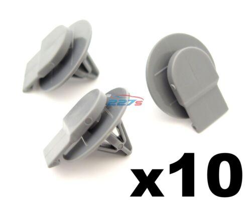 10x BMW MINI PASSARUOTA Tagliare Clip-Elementi di fissaggio per esterni PASSARUOTA trim