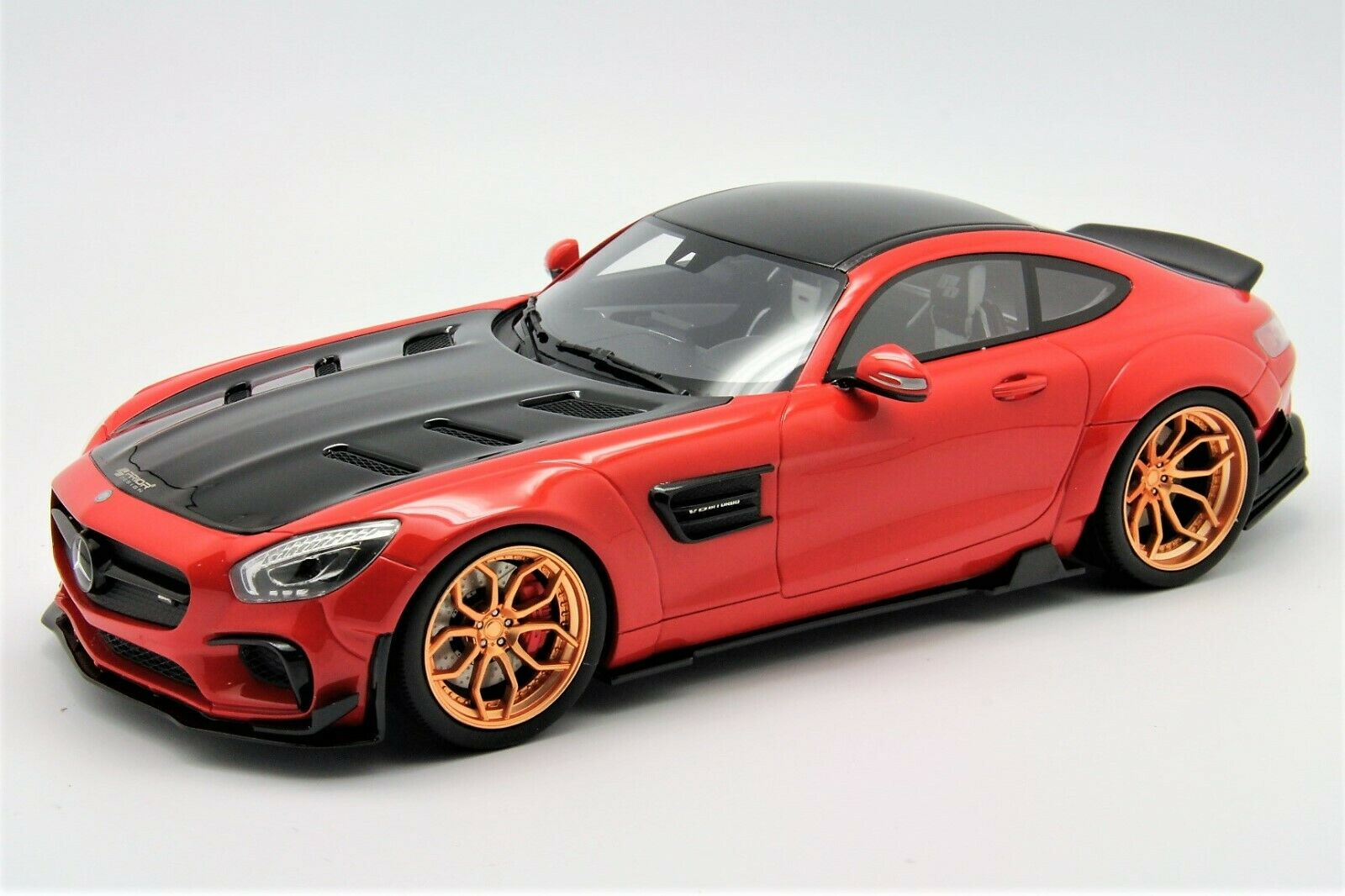 1 18 GT Spirit Prior Design Mercedes AMG GT Red Free Shipping  MR BBR