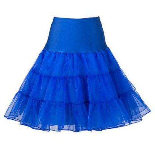 """26/"""" Retro Underskirt Swing 50s Vintage Petticoat Rockabilly Net Tutu Fancy Skirt"""