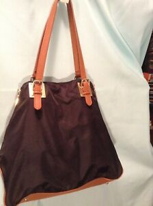 STEVEN BY STEVE MADDEN BLACK AND BROWN SHOULDER HANDBAG