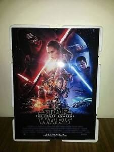star wars the force awakens poster a4 framed picture 260gsm ebay