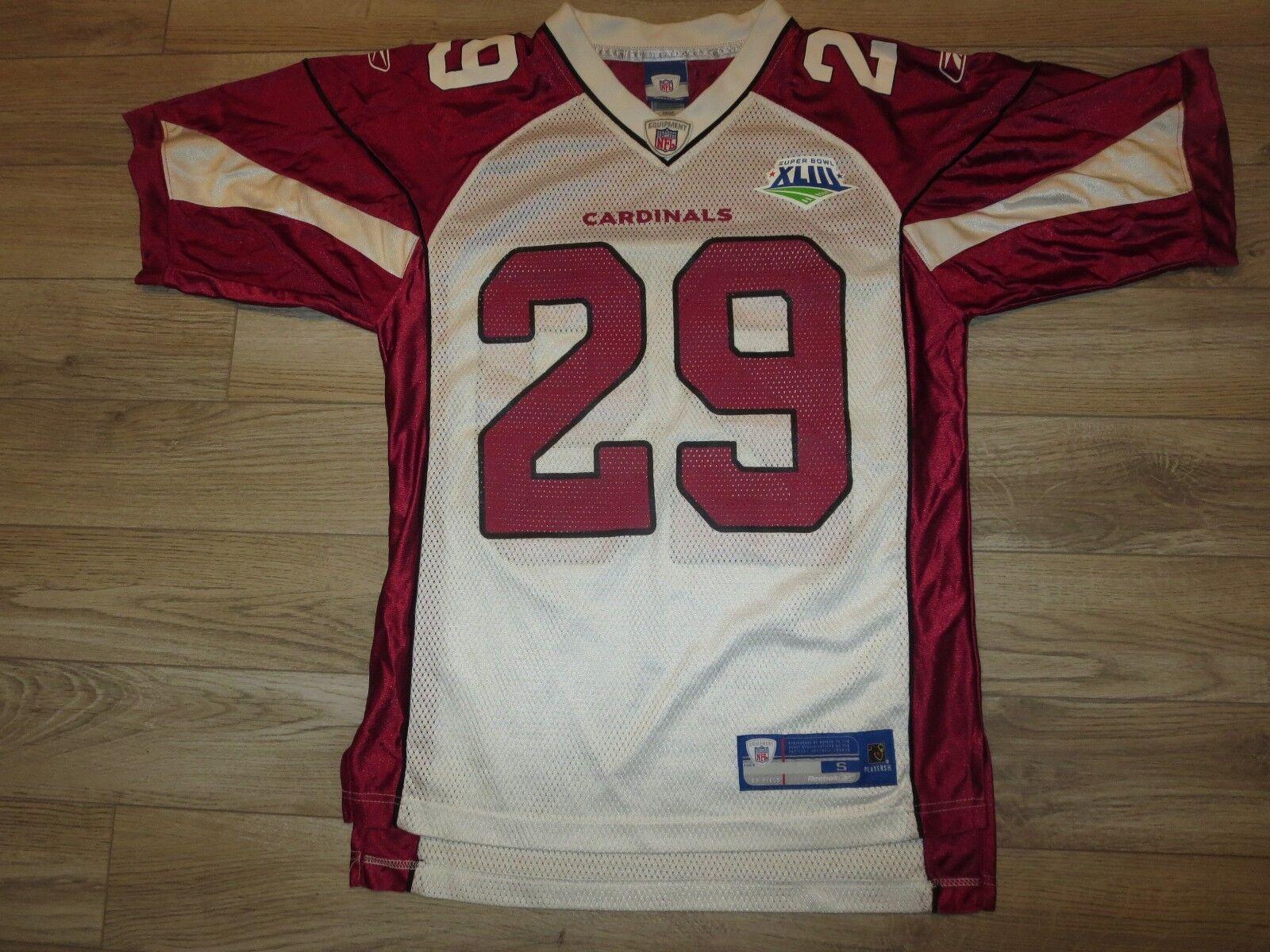 Arizona Cardinals 1998 Super Bowl Rodgers Cromartie NFL Reebok Camiseta Sm