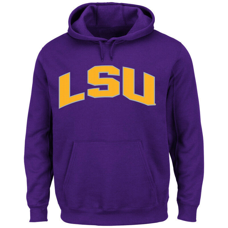 NCAA College Hoody LSU Louisiana Tigers hoodie kaputzenpullover CHEERING them