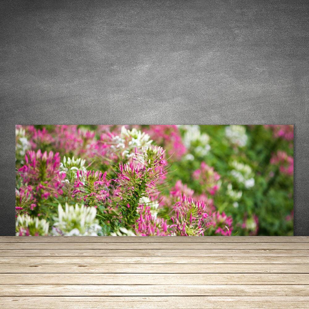 Crédence de cuisine en verre Panneau 125x50 Floral Fleurs Fleurs Fleurs f87d27