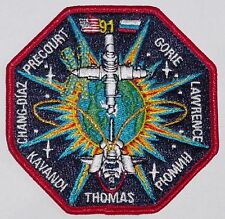 Aufnäher Patch Raumfahrt NASA STS-91 Space Shuttle Discovery .........A3243