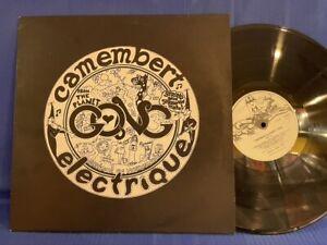 GONG CAMEMBERT ELECTRIQUE VC 502 ORIGINAL UK LP MINT !!