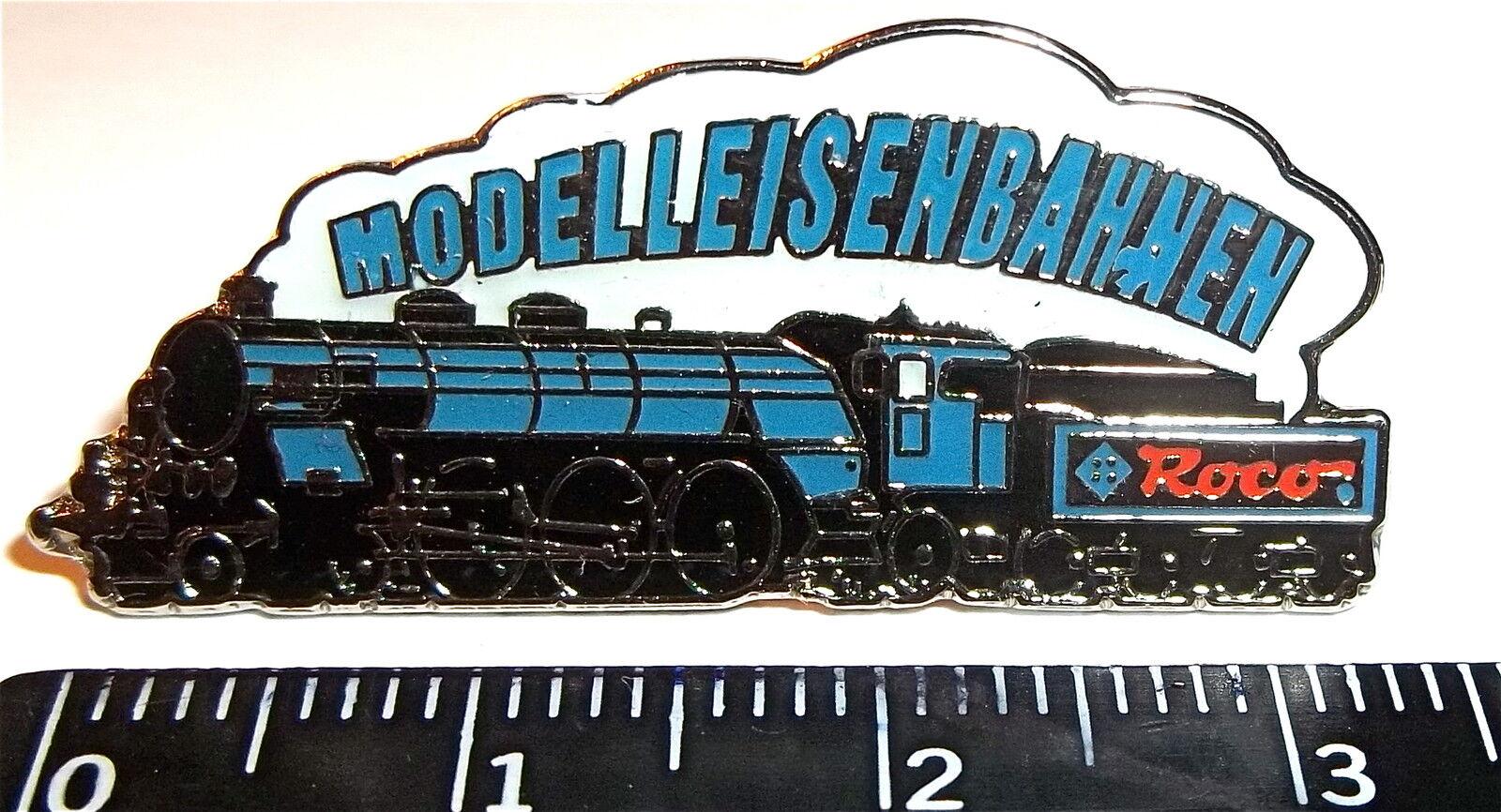 Locomotive à vapeur pin ROCO Maquette de train pin NEUF