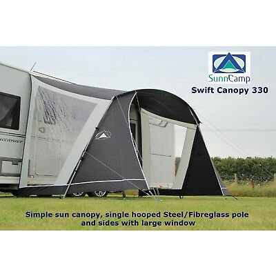 SunnCamp Swift Sun Canopy 330 - Grey - 2019 Model